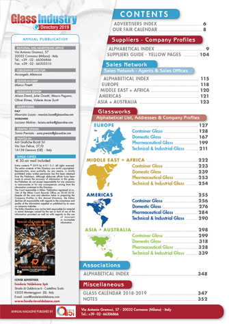 Glass Industry Directory 2019 - GlassOnline com - The World's